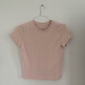 Pink Urban Outfitters basic tee